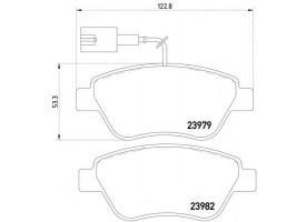 Колодки тормозные дисковые передн. MITO (955) 78л.с.